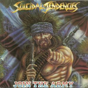 SUICIDAL TENDENCIES - Join The Army CD  1987 harcore