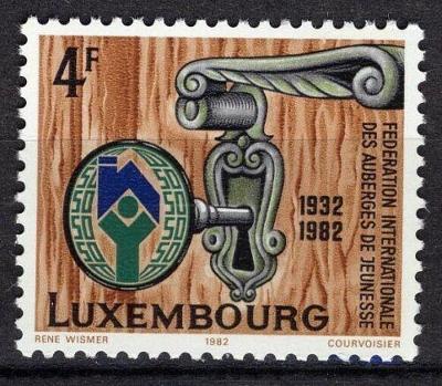 Lucembursko 1982 Mládežnické noclehárny Mi# 1060 0093