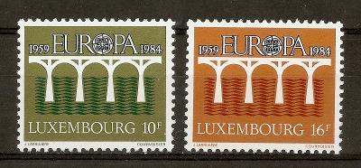 Lucembursko 1984 Evropa CEPT Mi# 1098-99 Kat 4.50€ 0093