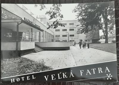 Slovensko Žilina Rajecké Teplice Hotel Veľká Fatra exteriér