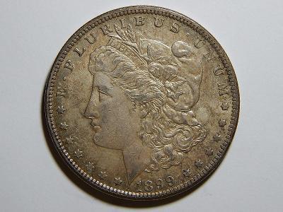 USA 1 Dollar Morgan 1899O XF-UNC č36193