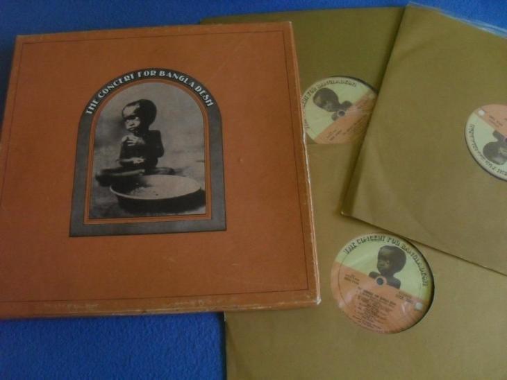 LP The Concert for Bangladesh 3 LP - Hudba