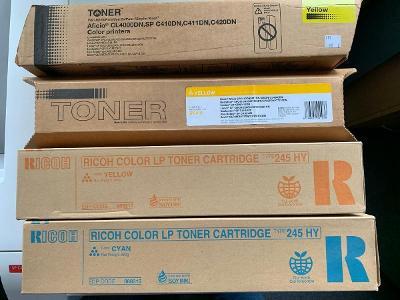 Tonery do tiskáren Ricoh SPC410/411/420