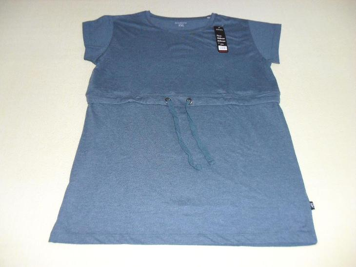 Tričko - dlouhé s páskem, vel. XXL (cca 44), zn. SAM73 - NOVÉ - Dámské oblečení