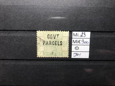 GB, Velká Británie, Mi. 23 Dienstmarken