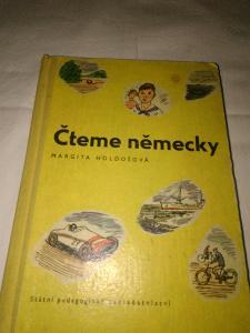 Čteme německy - Holdošová Margita - 1963 - 176 str.