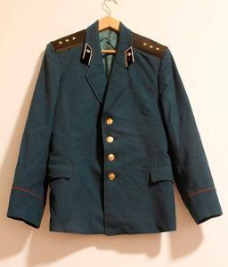Uniforma. Armáda. Kabát. Důstojník. SSSR. Rusko.