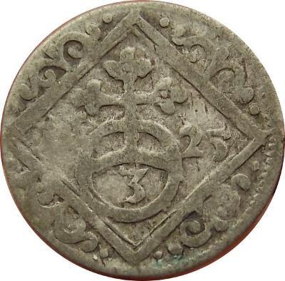 Ferdinand II. 1625 3 Pfennig DVB Neisee
