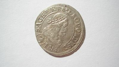 Leopold I. 3 krejcar 1669 Štyrský Hradec