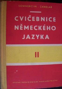 Cvičebnice německého jazyka II., vyd. 1961