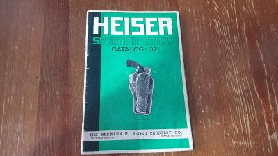Starý katalog pouzder na COLTS-MAUSER-LUGER a pušky1920-Perfektní stav