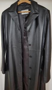 Dámský dlouhý kožený kabát Calypso vel.40