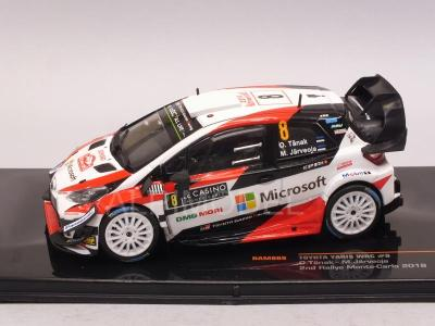 Toyota Yaris WRC #8 Tanak M.Carlo 1:43 IXO RAM665
