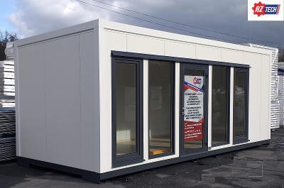 Zahradní kontejner / konstrukční kontejner / pavilon 7,0 x 3,0 m