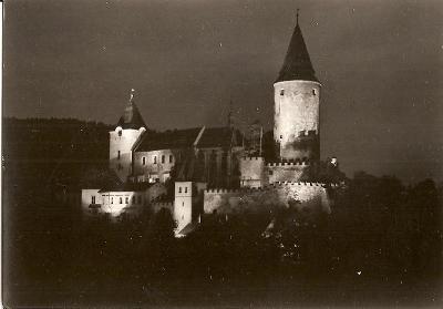 KŘIVOKLÁT - hrad - slavnostní osvětlení - Rakovník