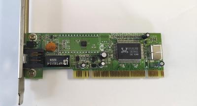 Síťová karta RTL8139D 10/100Mbit/s PCI