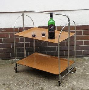 RETRO  servírovací stolek - za rozumnou cenu.