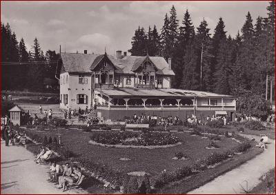 Vyšné Ružbachy (Stará Ľubovňa) * restaurace, park * Slovensko * V1168