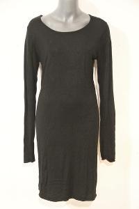 ESMARA černé elastické šaty M