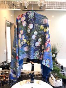 Velká nová šála/šátek na jaro/podzim ( 50% kašmir) Cashmere