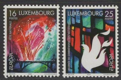 Lucembursko 1998 Evropa CEPT Mi# 1451-52 0109
