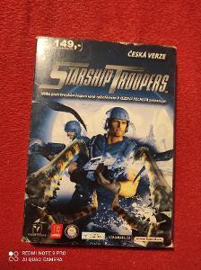 Starship Troopers česká verze PC hra