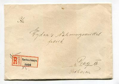 RUMUNSKO - RESICZABANYA - R OBÁLKA 1915 /AA 16-4