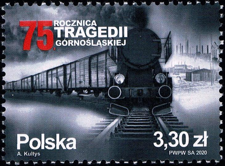 Polsko 2020 Známky Mi 5250 ** Slezsko vlak železnice válka deportace - Filatelie
