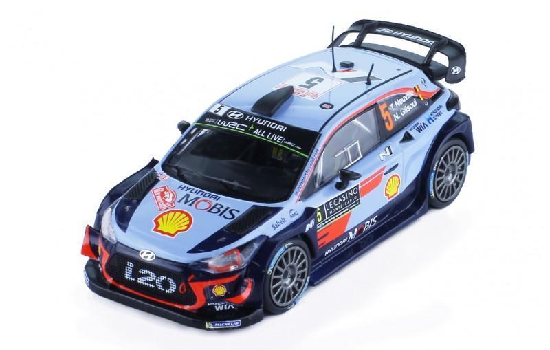 Hyundai i20 WRC #5 Neuville M.Carlo 2018 1:43 IXO - Modelářství