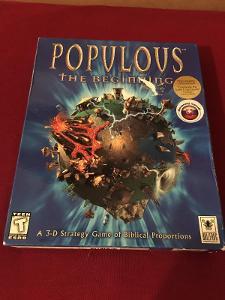 POPULOUS THE BEGINING PC BIG BOX