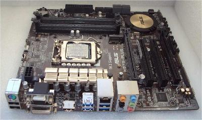 ⏩ ~s.1150 ASUS H97M-PLUS + procesor 4jádra/8 vláken @3,8GHz