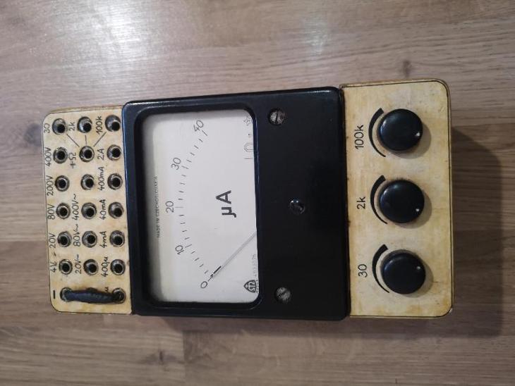 Měřící Přístroj Metra - Elektronika