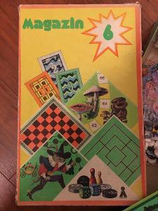 Retro soubor stolních her Magazin 6 (DDR)