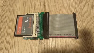 Náhrada harddisku pro Amigu 600/1200