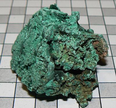 MAL-S-C Malachit surový, sbírkový vzorek, cca 53g