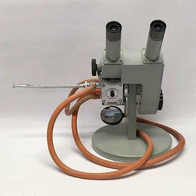 Refraktometr (Mikroskop) Carl Zeiss Jena s rtuťovým teploměrem