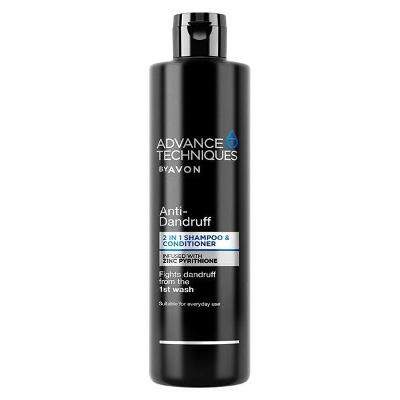 Šampon a kondicionér 2 v 1 s pyrithionem zinku proti lupům