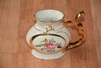 pítko, lázeňský hrnek Karlovarský porcelán