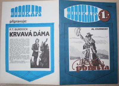 Texaská pomsta DODOKAPS č.1 rok 1990