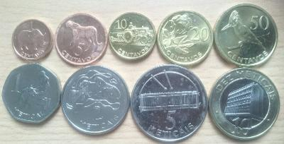 Mozambik 9 mincí, oxidace 20 centavos