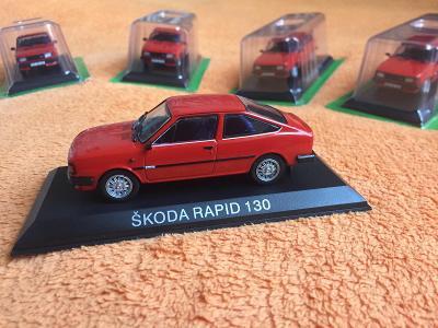 Škoda 130 RAPID (1987) nádherné kupé(4)SBÍRKOVÝ 1:43 + DÁREK za 100 KČ