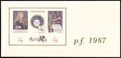 POF. VT 12 a) - VÝSADNÍ TISK PRAGA 1988 - 60 LET FIP (S1783)