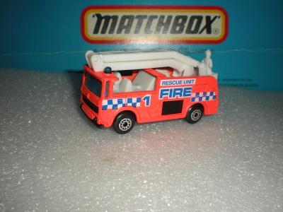Matchbox Snorkel oranž r.1987