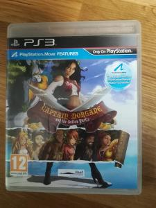 PS3 - Captain Morgane and the Golden Turtle (MOVE) SONY Playstation 3
