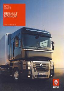 Renault Trucks Magnum prospekt 07 / 2009 PL nákladní