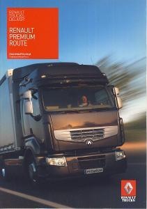 Renault Trucks Premium Route prospekt 05 / 20109 PL nákladní