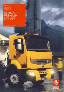 Renault Trucks Premium Lander prospekt 04 / 2009 PL nákladní