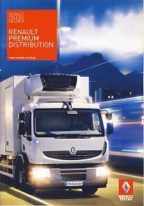 Renault Trucks Premium Distribution prospekt 07 / 2009 PL nákladní