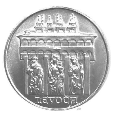 Stříbrná mince 50 Koruna 1986 město Levo�a, perfektní stav!