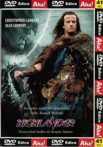 HIGHLANDER (DVD) (PAPÍROVÝ OBAL)